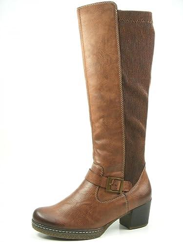Rieker Damen Stiefel 79092.25 braun 384984  Amazon.de  Schuhe ... 3a4fc558d2