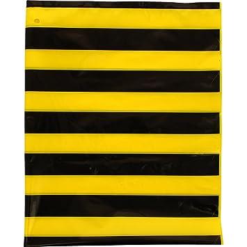 Fixo 72301 - Pack de 25 bolsas disfraz, 56 x 70 cm, color multicolor (amarillo/negro)