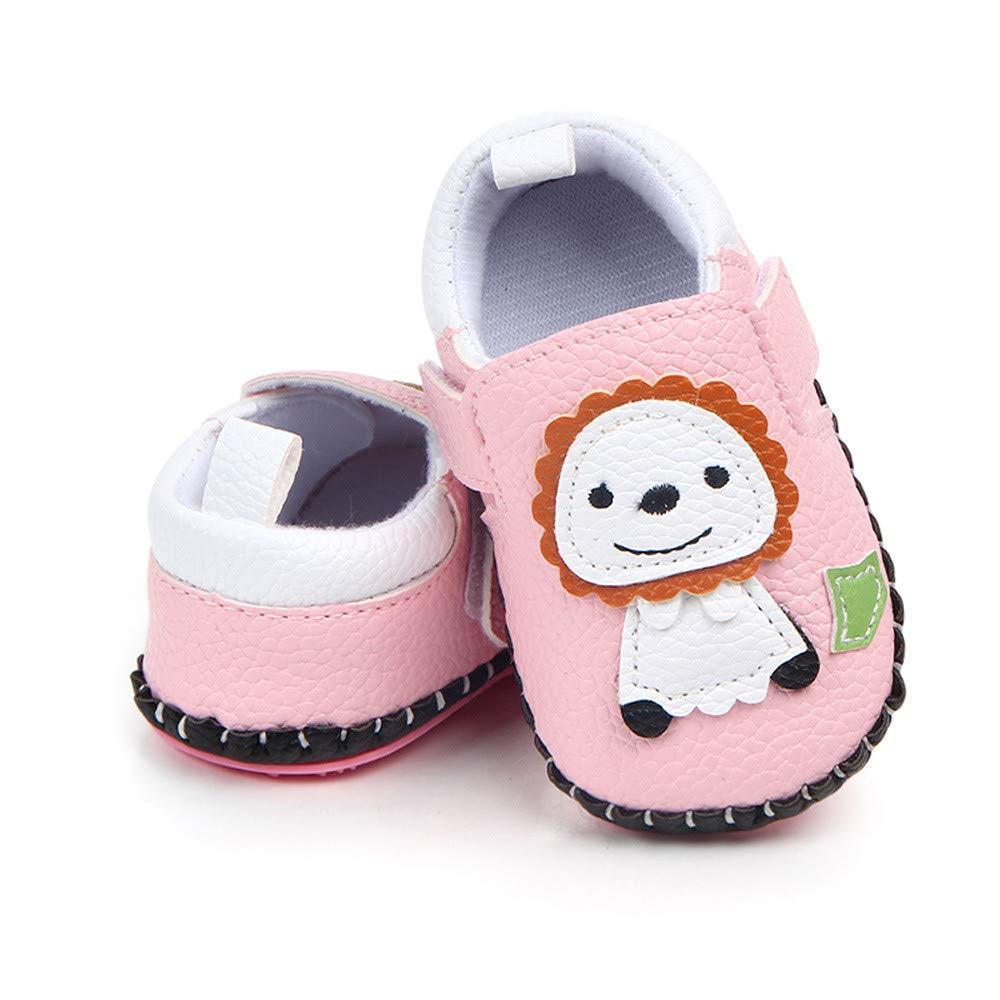 Amazon.com: Infant Baby Boys Girls Lion Anti-slip Sneaker First ...
