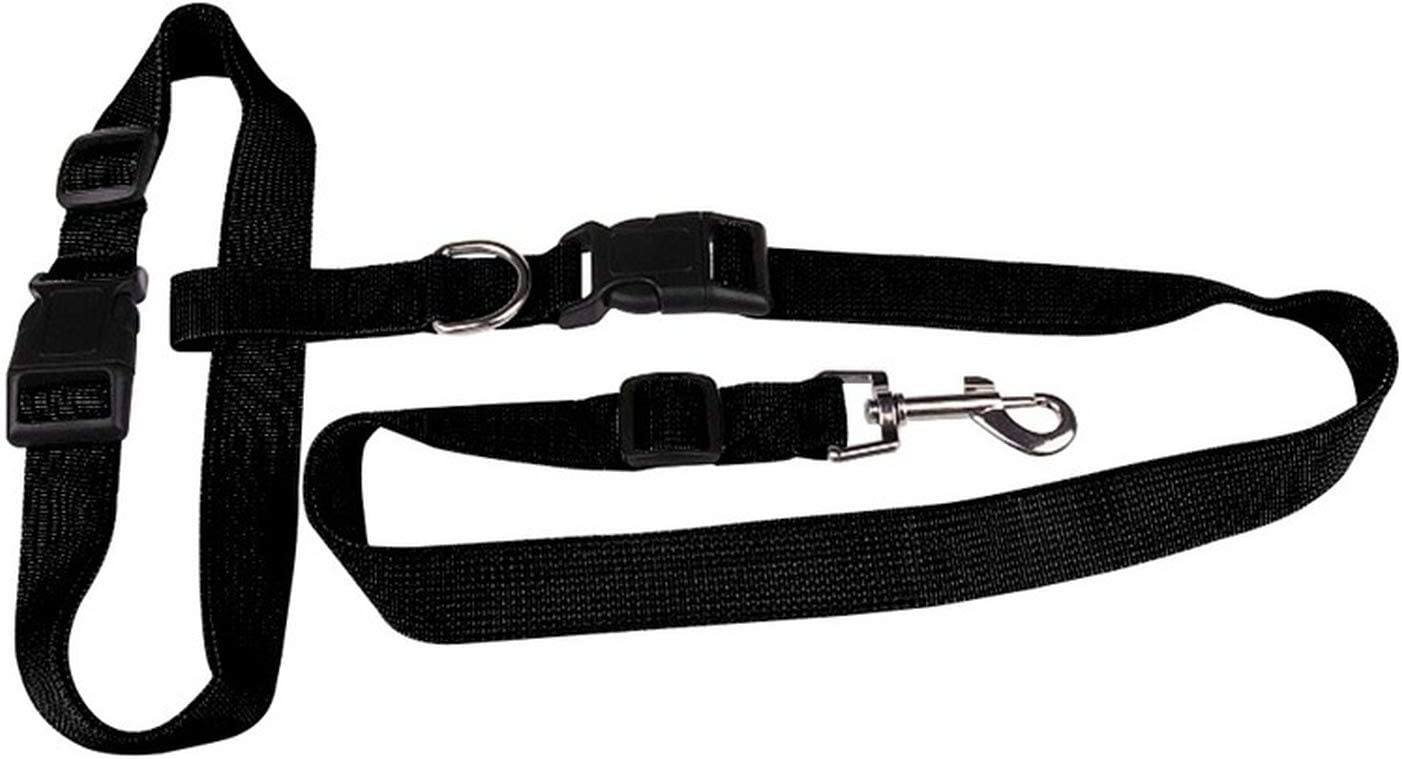cintura in vita e custodia ideale per cuccioli di cane di taglia grande ZMYY Guinzaglio per cani con mani libere regolabile