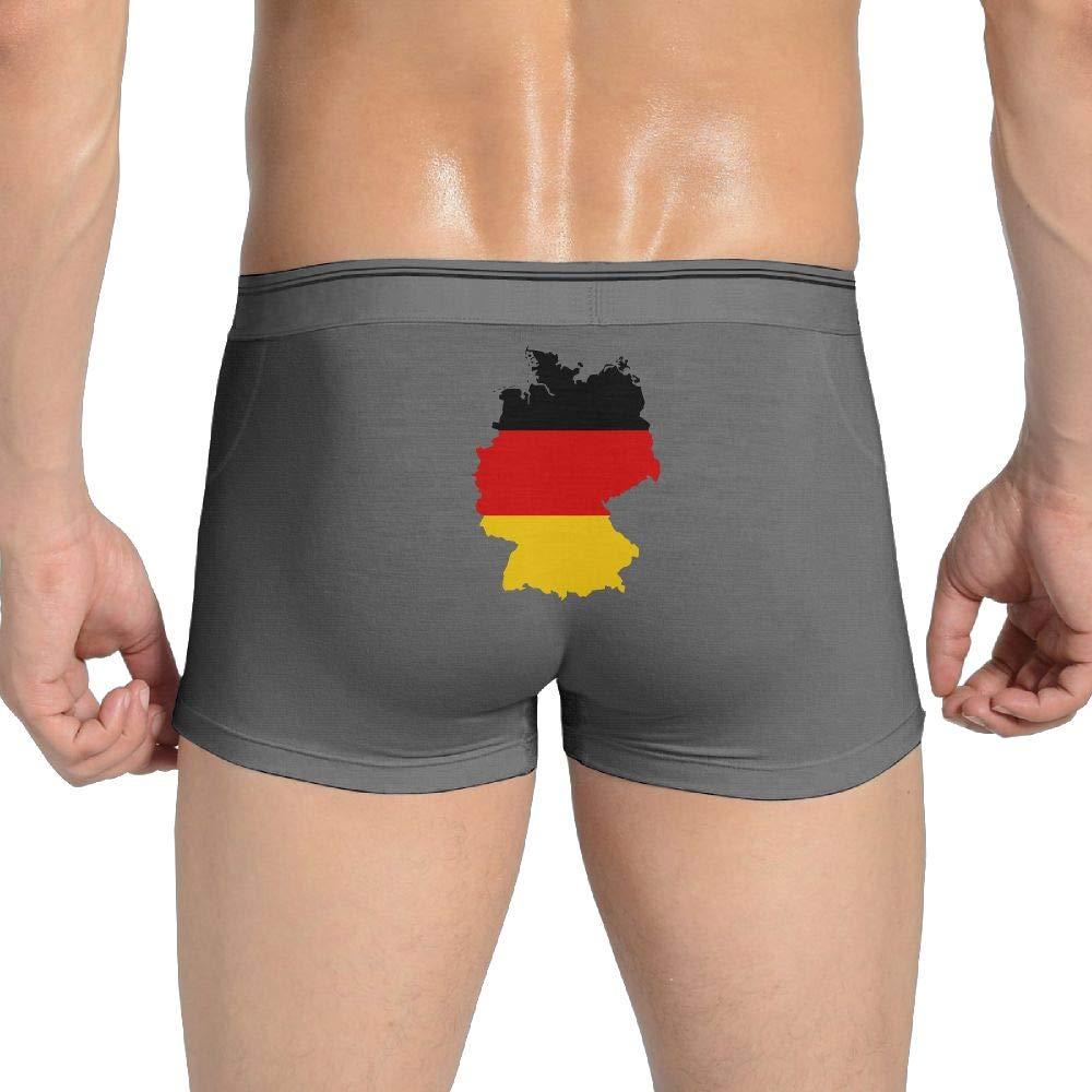 UR75OJ/&NK Mens Cotton Underwear Ultimate Germany Map Short Leg Underwear