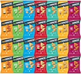 Popcorners Variety Pack Sampler, 1 Ounce by Variety Fun (28 Count)