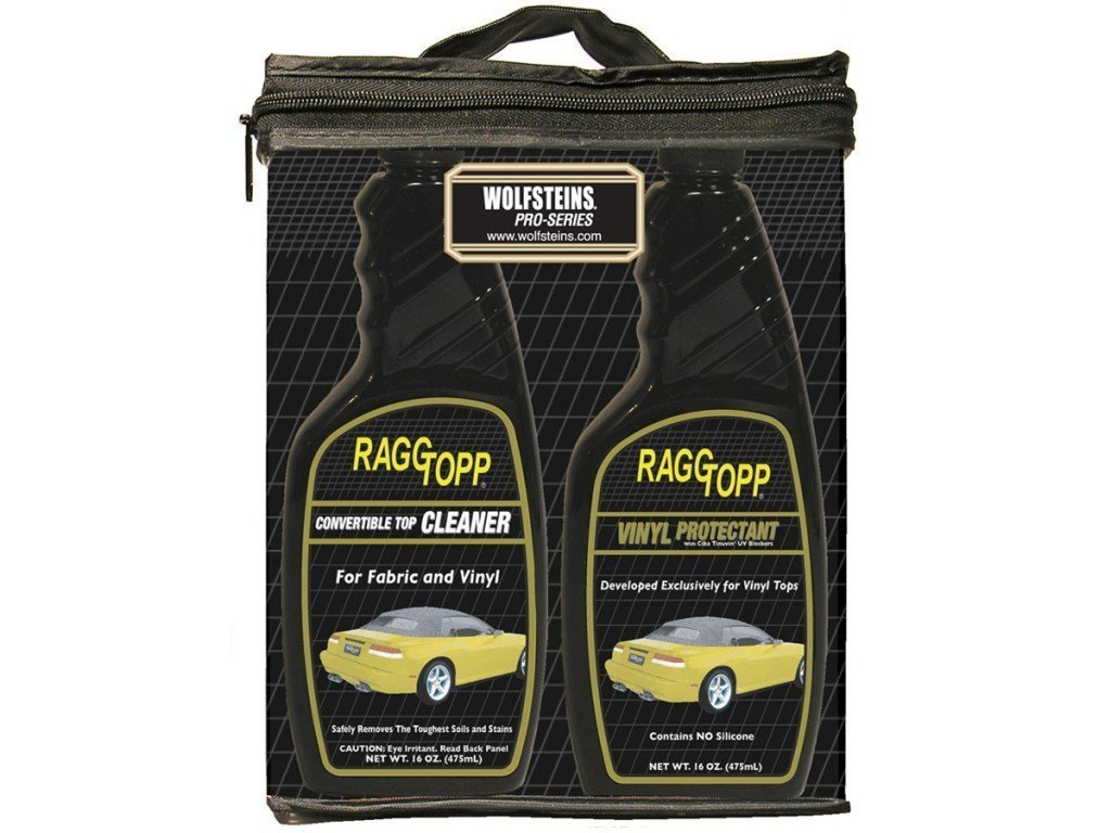 B0002KKJ1I Raggtopp Convertible Top Vinyl Cleaner & Protectant Kit 16 ounce 61c6d2ulWbL