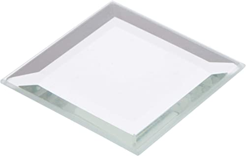 Plymor Square 3mm Beveled Glass Mirror, 1.5 inch x 1.5 inch Pack of 144
