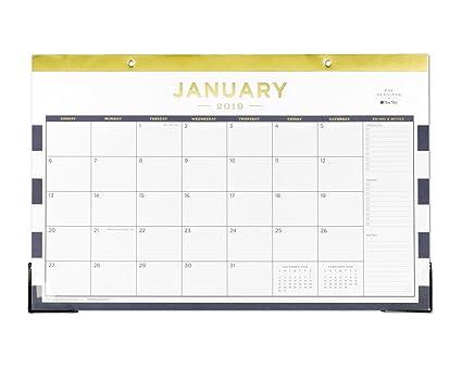 Amazon Com Day Designer For Blue Sky 2019 Monthly Desk Pad