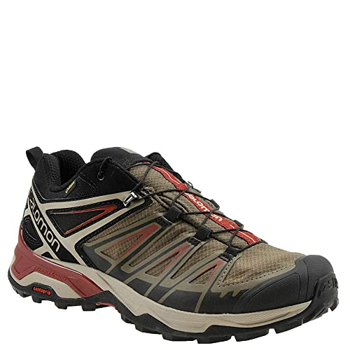 SALOMON X Ultra 3 GTX Marron Claro Negro L40674900: Amazon.es: Zapatos y complementos