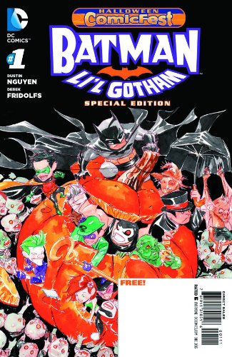 Batman Lil Gotham #1 (Halloween Comicfest 2013) -