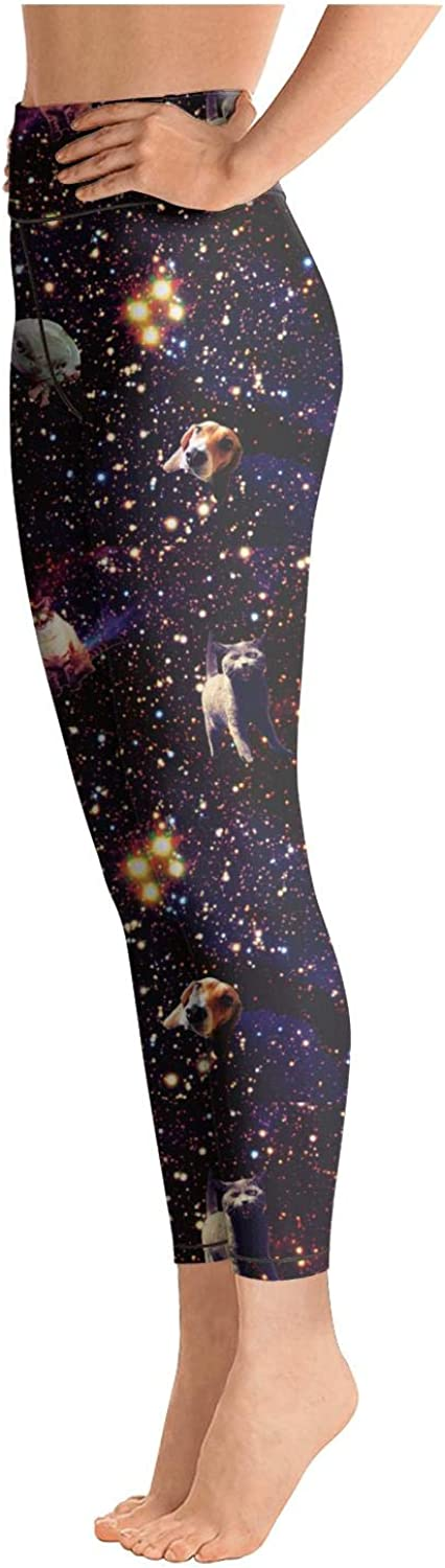 Ouxioaz High Waist Yoga Pants All Kinds of Dogs Workout Leggings for Woman