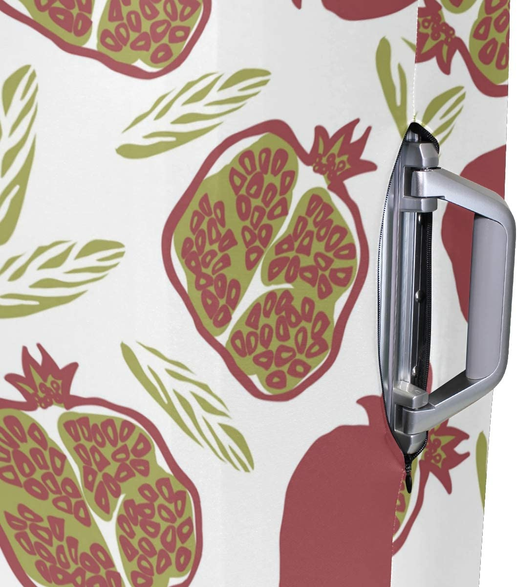 18//22//26//29 Inch Travel Suitcase Luggage Protective Cover with Pomegranate