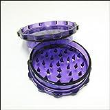 """Plastic Weed Grinder 3"""" Herb Crusher (Purple)"""