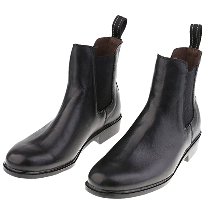 132f9b51d MagiDeal Kids Children Paddock Equestrian Ankle Boots Horse Riding Pull On Footwear  Shoes 26-29: Amazon.in: Shoes & Handbags