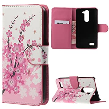 LG L Bello D331 Funda,Cartera Cuero Flip Case Cover Cubierta ...