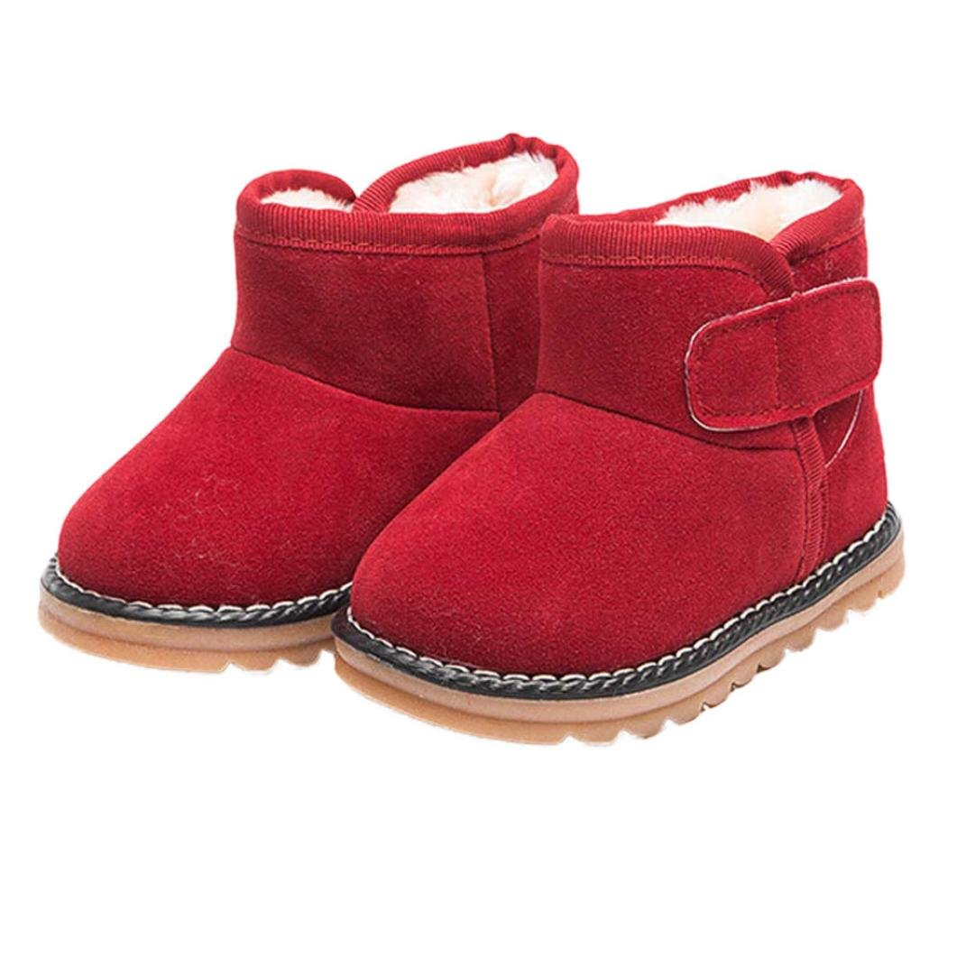 Goodtrade8 GOTD Baby Toddler Infant Girls Boys Snow Boots Winter Shoes
