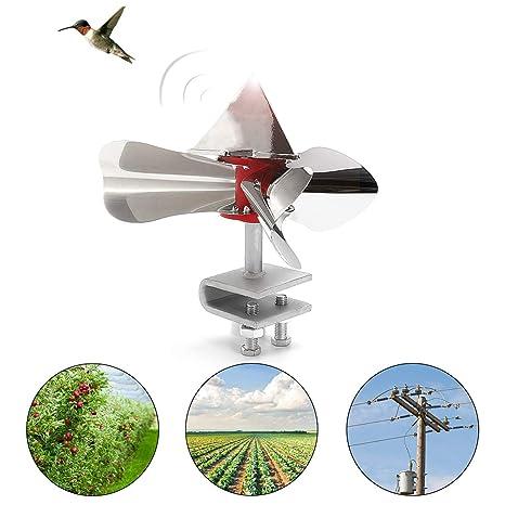 SAFETYON Bird Blinder Wind-driven Light Reflection Principle of Stainless  Steel Bird Repeller Bird Scarer for Home Outdoor Garden Farm