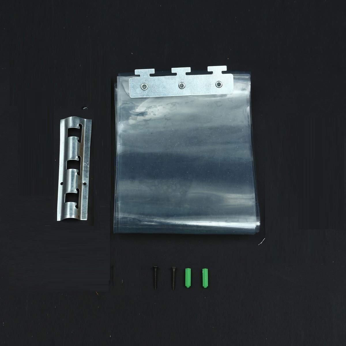 RanDal 200 * 18 * 0.1 Cm Pvc Tiras De Plástico Cortinas Congelador ...