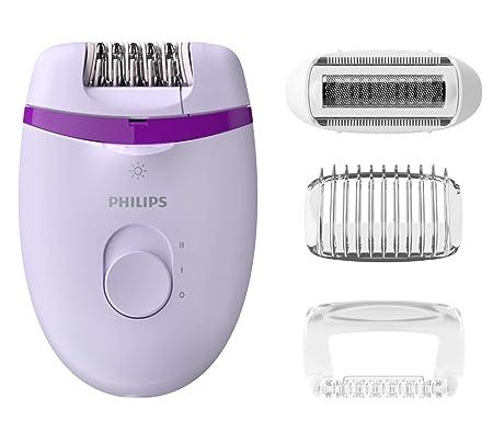 Philips BRE275/00 Satinelle Essential Compact Epilierer mit Opti-light für Beine und empfindliche Bereiche