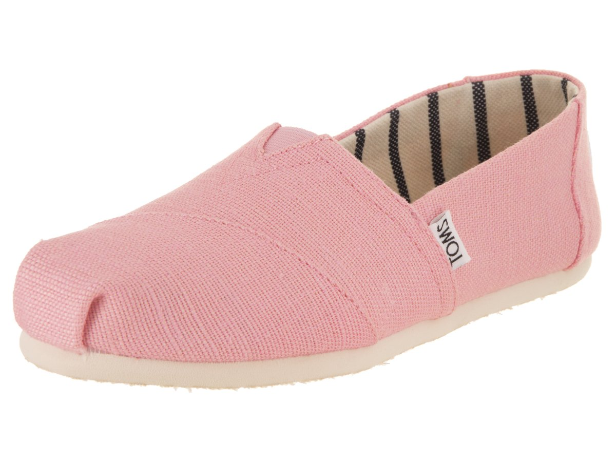 TOMS Womens Venice Casual Lifestyle Shoe, Powder Pink, 6 B(M) US