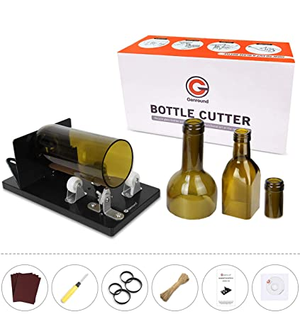 Glass Cutter Glass Bottle Wine Bottle Shaped Cutter Bottle Cutter Diy Wine Bottle Lamp Cup Tool Cutting Machine Glass Knife Tools Wide Selection; Tools