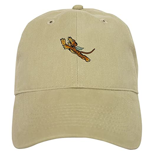 46a10f1e9dc CafePress - The Flying Tigers - Baseball Cap with Adjustable Closure