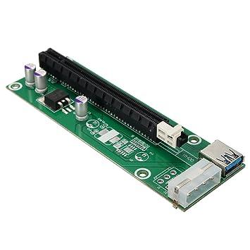 ELEGIANT USB 3.0 PCI-E Express 1 X a 16 X Cable de extensión ...