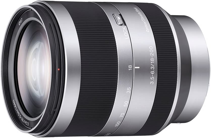 Sony SEL18200 E Mount - APS-C 18-200mm F3.5-6.3 Telephoto Zoom Lens