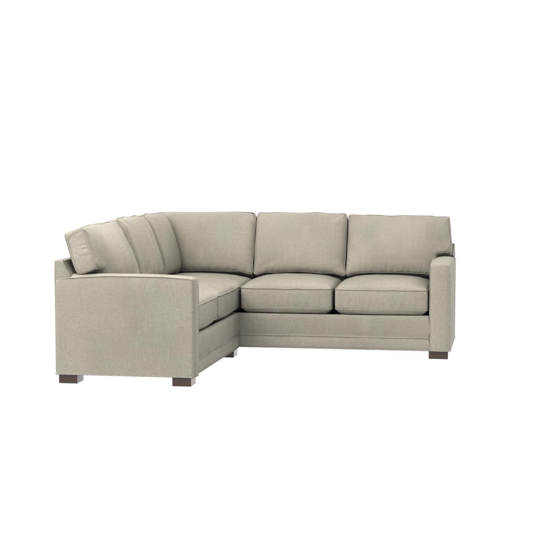 Amazon Stone & Beam Dalton Transitional Sectional Sofa 98 5