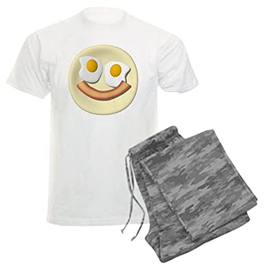 Amazon.com  CafePress - Sunnyside Up! Men s Light Pajamas - Unisex ... 75e3d41b6