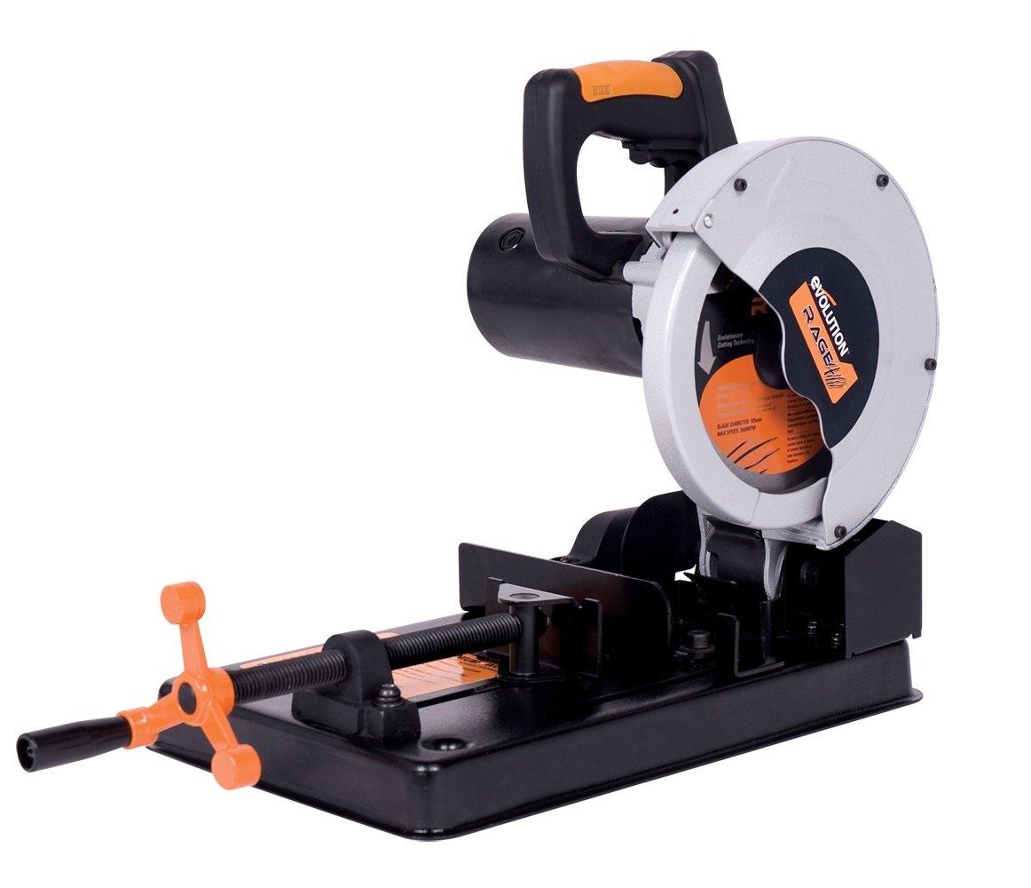 Evolution Power Tools RAGE4 7-1/4-Inch TCT Multipurpose Cutting Chop Saw by Evolution Power Tools
