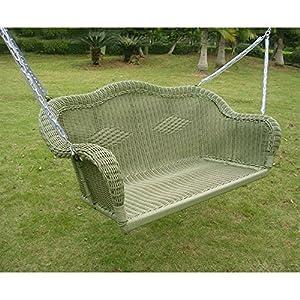 61c6sAP88FL._SS300_ 50+ Wicker Swings and Wicker Porch Swings