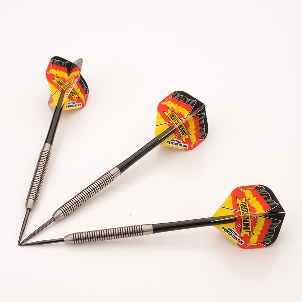CUESOUL Rost Integrated Dart Shaft and Flights Tips Case three pieces Sports
