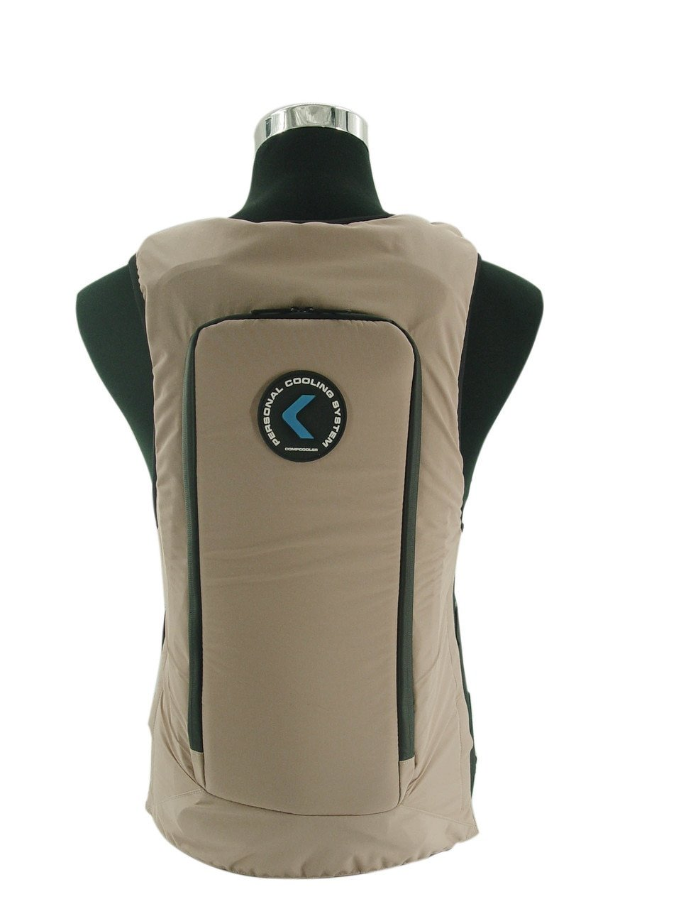 Ice Water Circulating Cooling Vest Tan Detachable Bladder XL-2XL by Compcooler (Image #5)