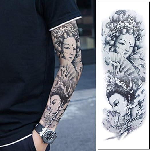 tzxdbh 5 Unids-Brazo Completo Tatuaje Aplica Brazo Tatuaje ...