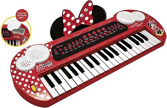 CLAUDIO REIG- Minnie órgano electrónico 58x28, Color Rojo (5252)