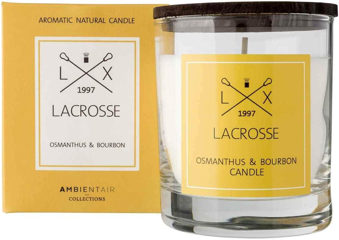 Lacrosse. Vela aromática Osmathus Bourbon. Vela perfumada con ...