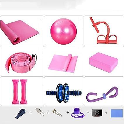 LYZ WeiQun Colchoneta de Yoga Kit De Yoga, Starter Kit con ...