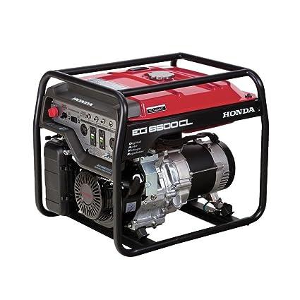 Amazon.com: Honda 6500-watt Motor Generador con protección ...