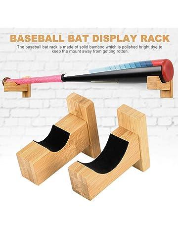 VRockefeller Baseball Bat Rack Vertical Tennis Baseball Bat Softball Racket Wall Mount Holder Rack Display