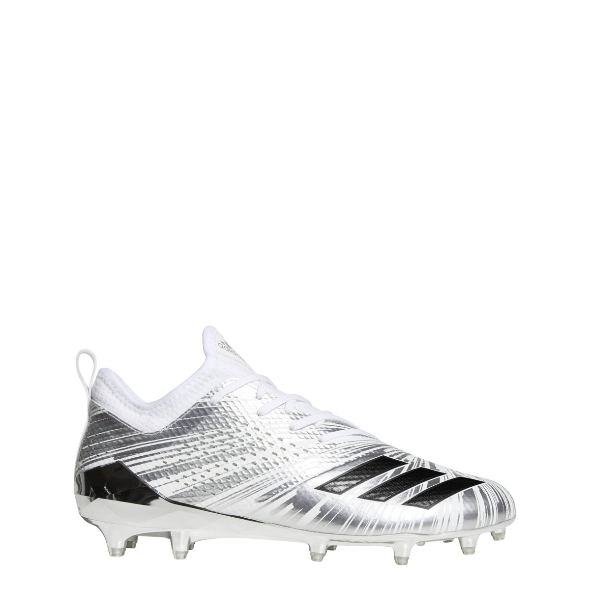 adidas Men's Adizero 5-Star 7.0 Football Shoe B07B6FR3VB 9.5 D(M) US Silver Metallic-core Black-white