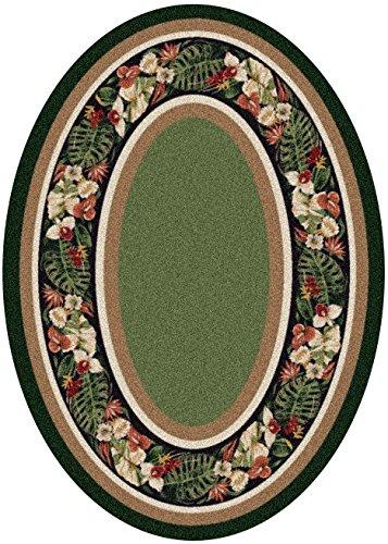 (Milliken 4000040389 Innovations Collection Kapalua Oval Area Rug, 5'4