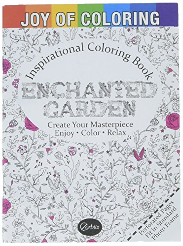 Joy of Coloring Enchanted Gardens Coloring (Joy Coloring Page)