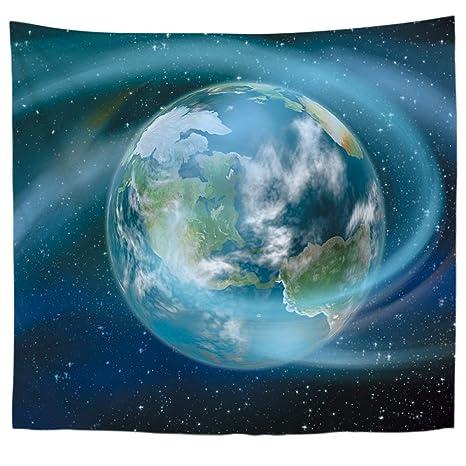 jzxjzx Tapiz Tapiz cósmico Planeta Impreso Mantel 1 150 ...