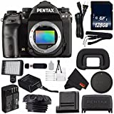 Pentax K-1 DSLR Camera #19568 (International Model) + 128GB SDXC Class 10 Memory Card + SD Card USB Reader + MicroFiber Cloth + Professional 160 LED Video Light Studio Series Bundle