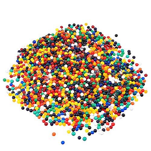 eBoot Floral Water Pearls Gel Soil Water Crystal Beads Jelly Water Pearl Vase Filler, 20000 Packs (Multicolor)
