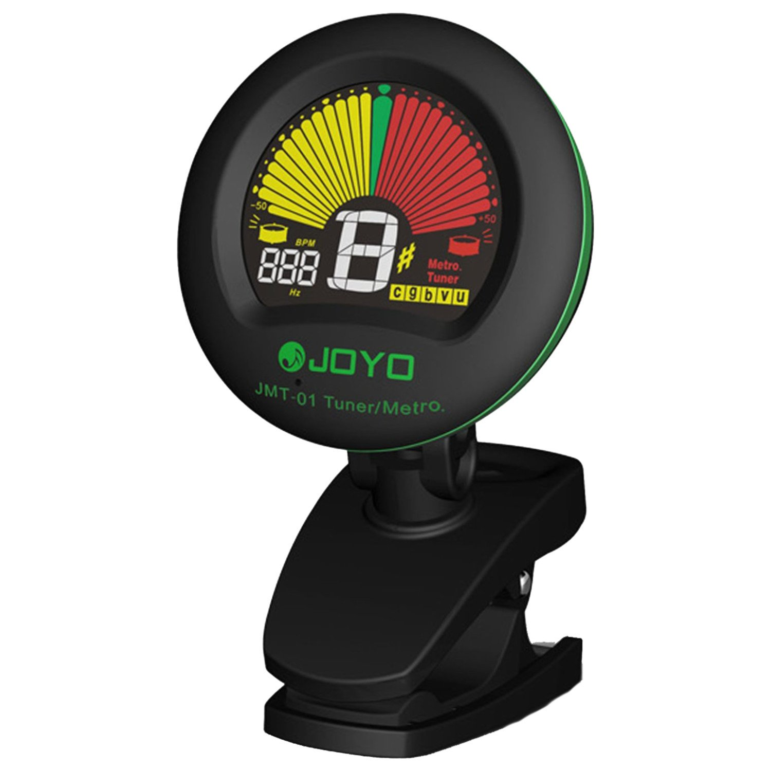 Joyo JMT-01 Clip-on Metronome Tuner for Strings instruments such as Chromatic, Guitar, Bass, Violin and Ukulele