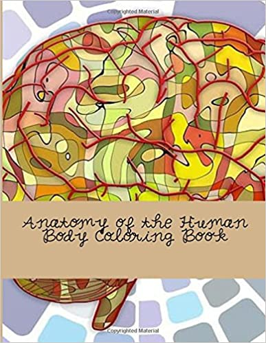 Amazon.com: Anatomy of the Human Body Coloring Book (9781537564272 ...