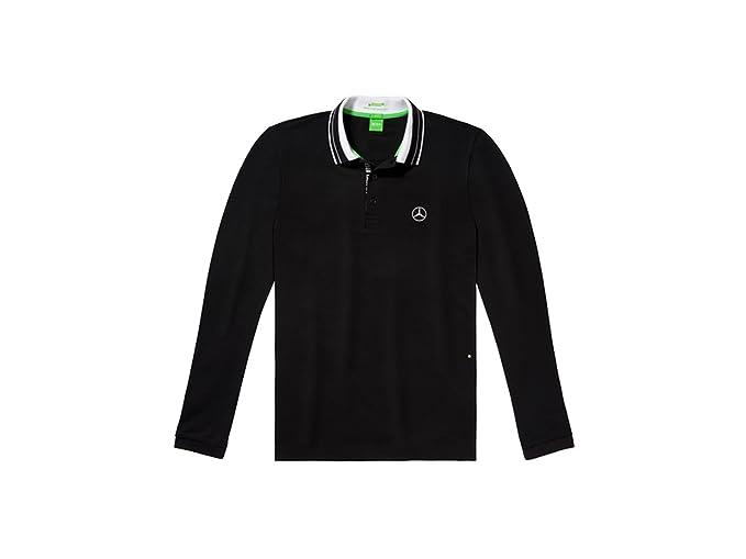 Mercedes-Benz, Camiseta Polo Hombre negro / blanco, Hugo Boss - Negro, M: Amazon.es: Ropa y accesorios