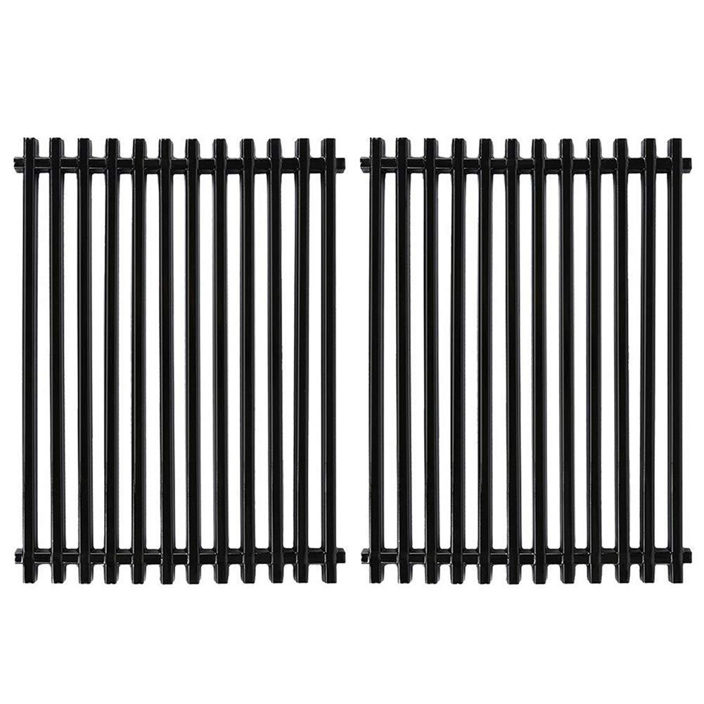 X Home Grill Grate 15'' Grill Replacement Parts 15 inch Cooking Grid for Weber Genesis Silver A and Spirit 500 Gas Grill, Porcelain Steel (2 Pack, 15'' x 11 1/4'')