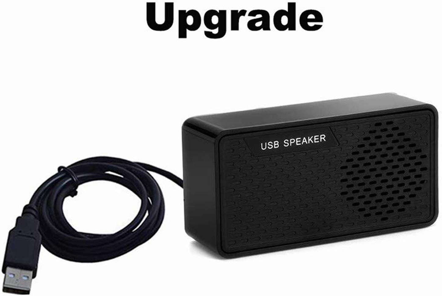 HONKYOB Portable USB Mini Speaker with Loud Stereo Sound,USB Powered for Computer,Notebook,Laptop,PC,Home,Outdoors,Travel,Checkout Counter