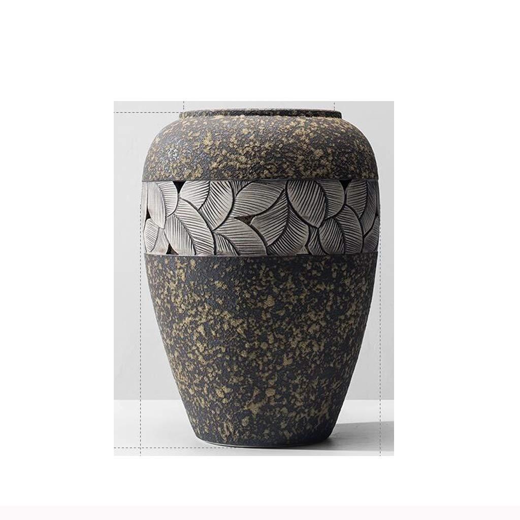 HBJP 新しい中国の石器の花瓶 花瓶 (サイズ さいず : High32CM) B07S17ZYHS  High32CM
