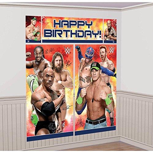 WWE Party Scene Setter [Contains 2 Manufacturer Retail Unit(s) Per Amazon Combined Package Sales Unit] - SKU# 670429